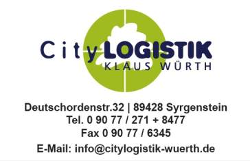 City LOGISTIK - Syrgenstein